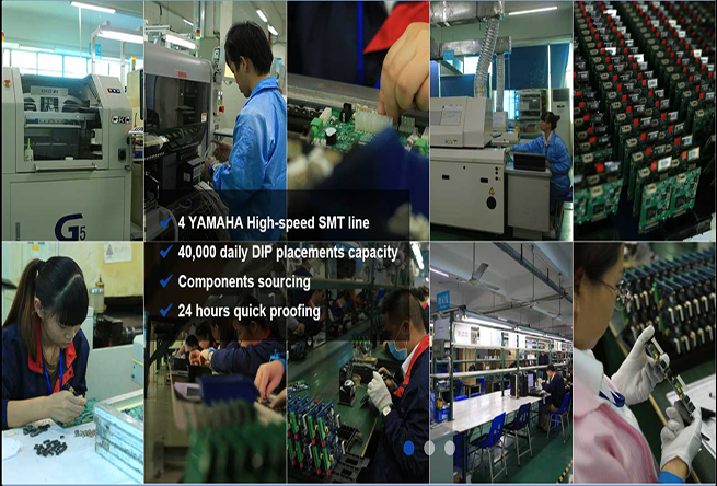 Shenzhen Manufacturer Electronic High Frequency Rogers Pcb