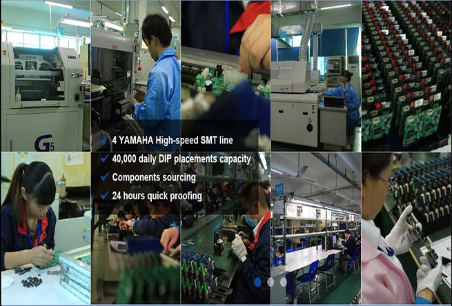 China Shenzhen Custom/ Flexible/ Printed pcba Circuit Boards