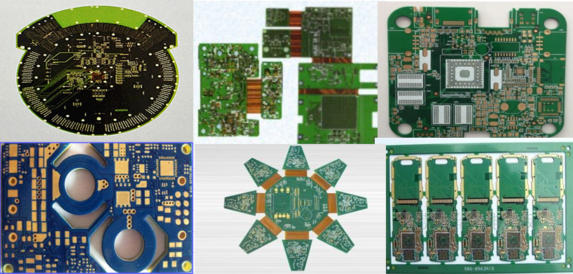 Double side 8 layers HDI PCB assembly manufacturing