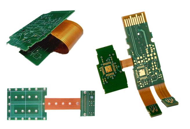Flex-rigid board.