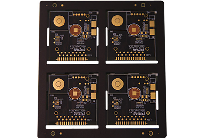 OEM special design 0.15mm ultrathin double side rigid PCB 4 layers