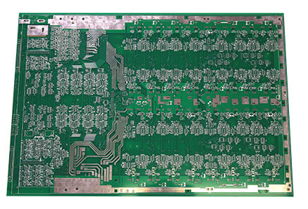 immersion silver 5mm 600x500mm large size custom pcb