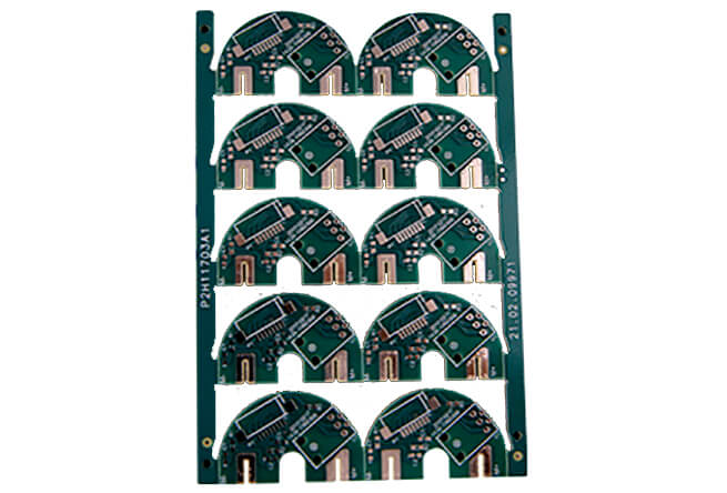 HDI green solder mask OSP printed circuit board
