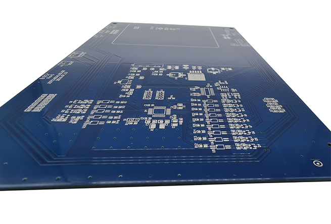 Blue solder mask 1.6mm 2 layers lead free HASL FR-4 PCB
