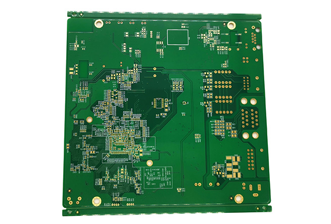 Green pcb with white silkscreen 94v0 multilayer prototype pcb maker