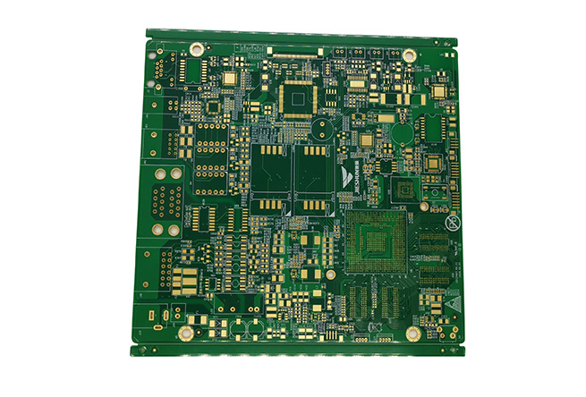 Prototype layout design service Rohs Manufacturer Assembly Gold Finger Double Layer PCB Circuit Boards with OSP