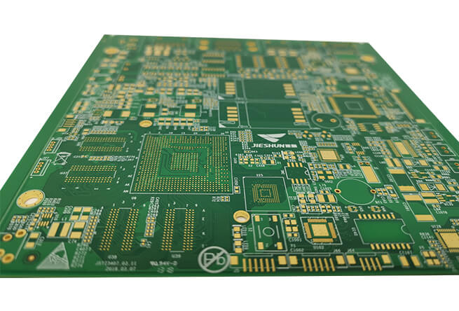 Custom layout design electric layout printed circuit board